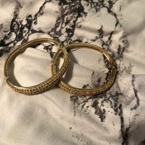 Gold and Brown Bracelets